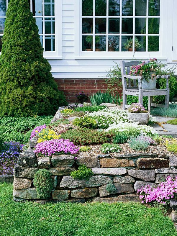 20 Rock Garden Ideas That Will Put Your Backyard On The Map - Stone-garden-ideas