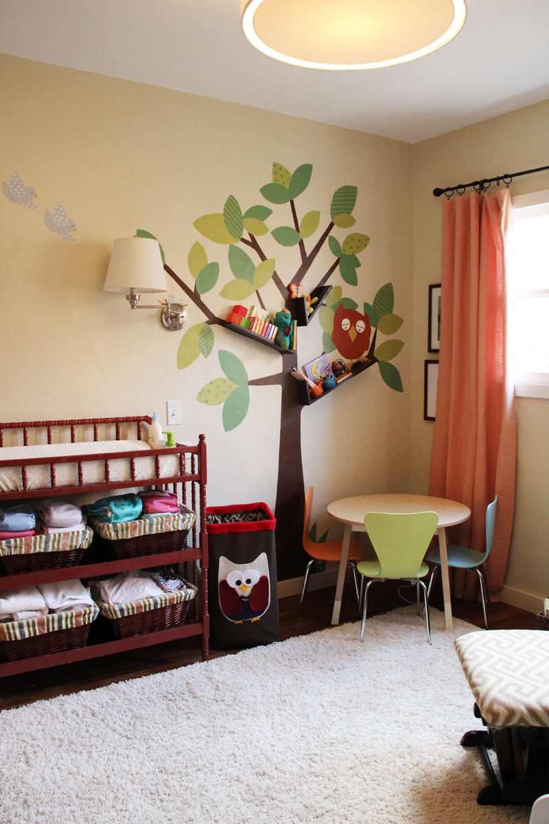 Kids Bedroom Tree tree bookshelves that creatively display collections in style