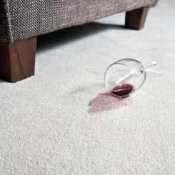 How To Remove Red Wine Stains From The Carpet