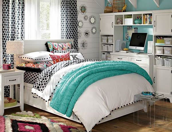 25 tips for decorating a teenager s bedroom - Room themes for teenage girl ...