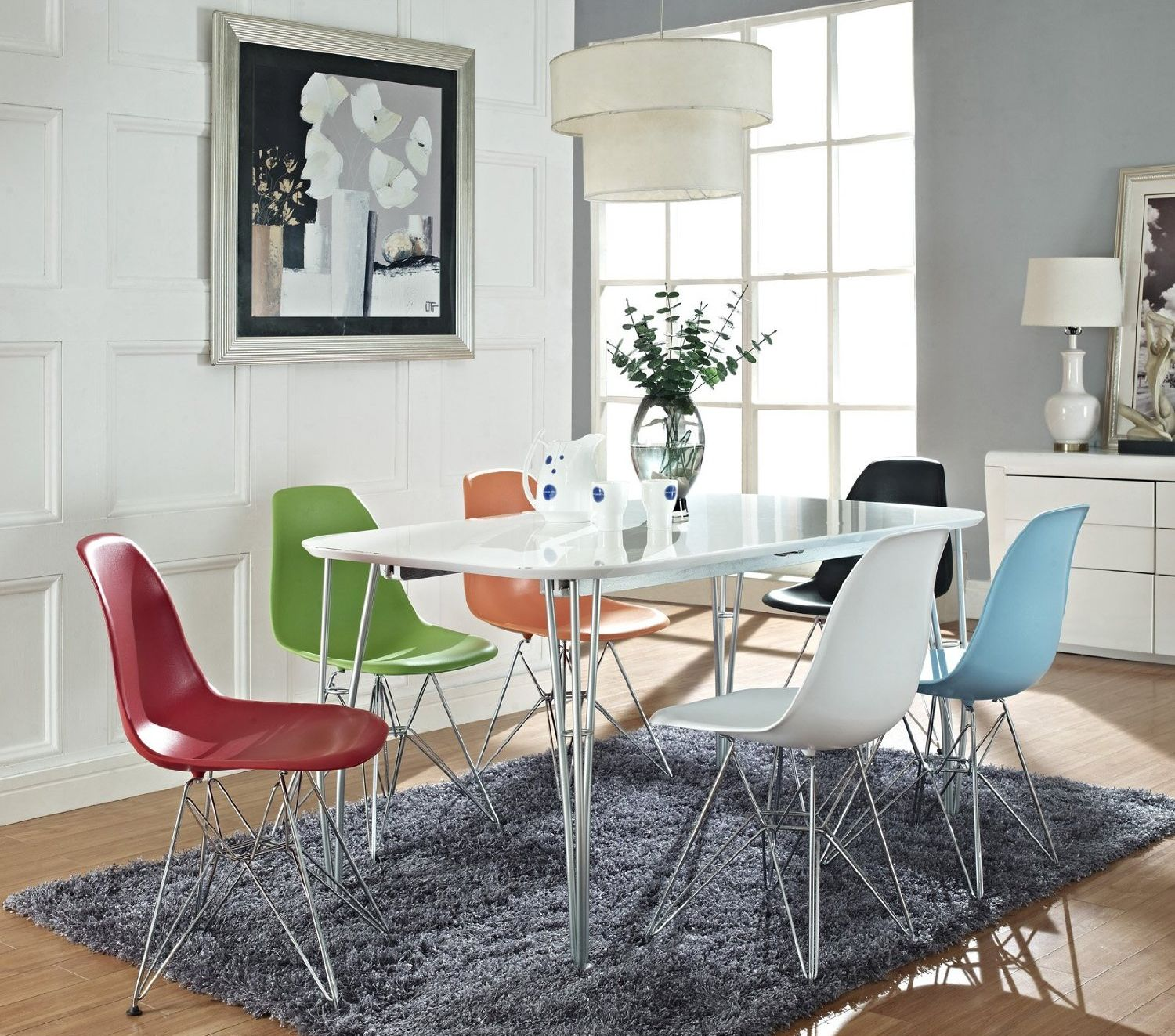 8eclectic accent - Plastic Carpet Mat For Dining Room
