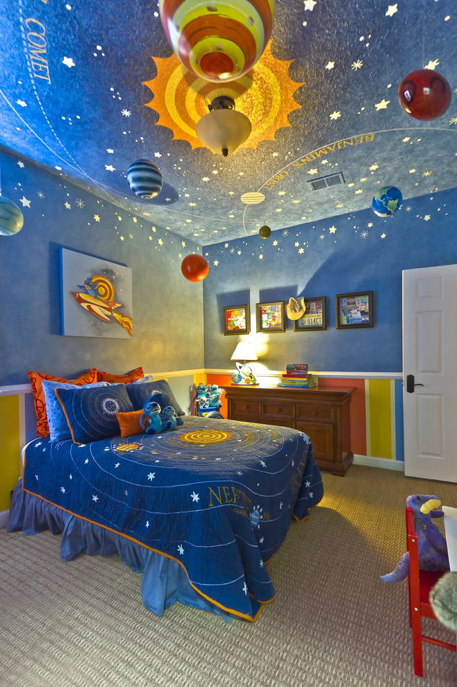 Attirant 21 Cool Ceiling Designs That Turn Kidsu0027 Bedrooms Into Fantasy Land