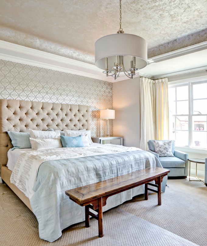 Decorate Wall Opposite Bed : Master bedroom ideas that go beyond the basics