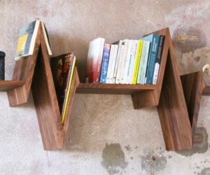 Modern Shelves With A Fun Twist – 10 Ingenious Designs