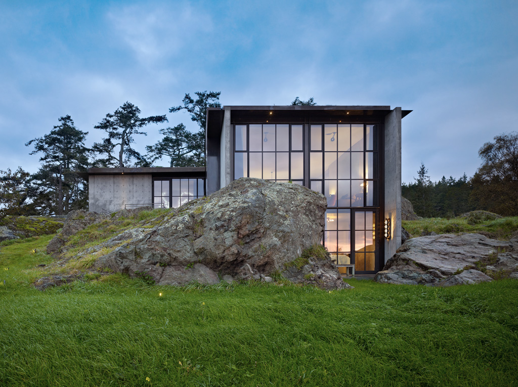 Carved Into Stone The Pierre House By Olson Kundig Architects