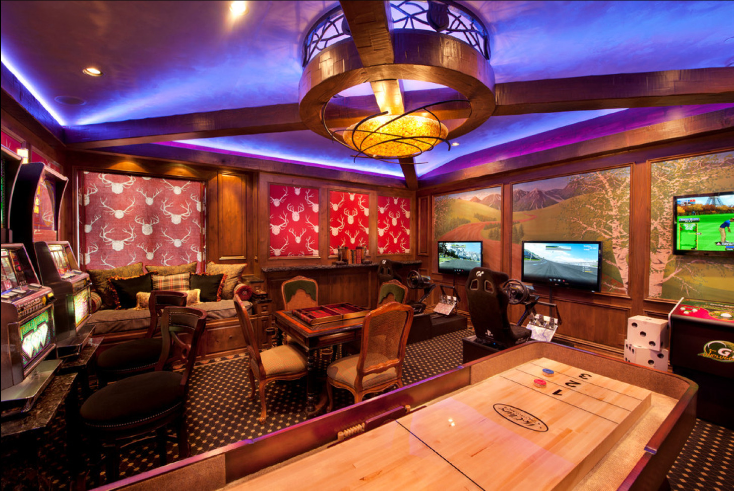 Game And Entertainment Rooms Featuring Witty Design Ideas Part 38