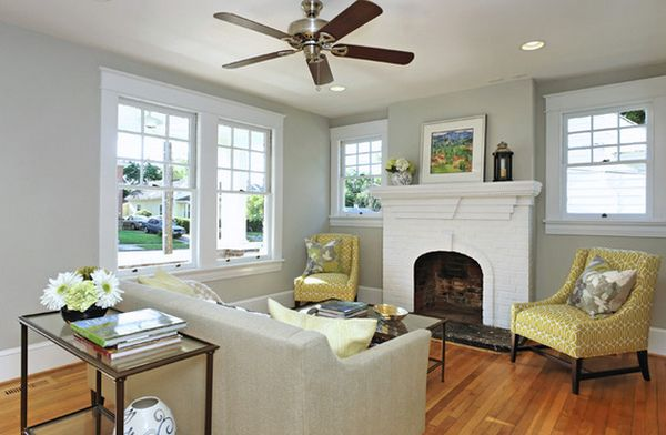 Small living room ideas that defy standards with their Living room ceiling fan ideas