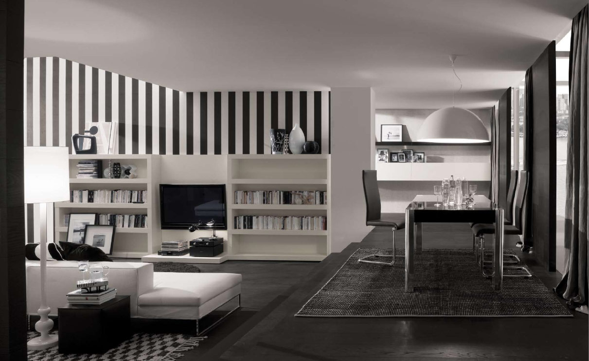 Interior Design Black how to decorate in black and white