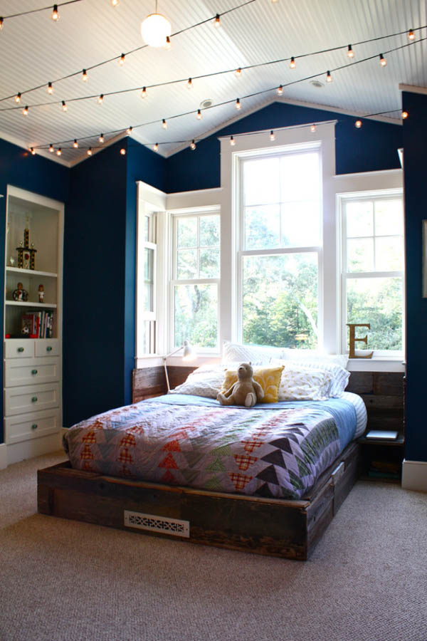bedroom ceiling. Home Decorating Trends  Homedit 21 Cool Ceiling Designs That Turn Kids Bedrooms Into Fantasy Land