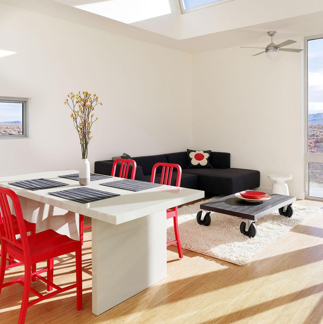Be Confident With Color – How To Integrate Red Chairs In The ...