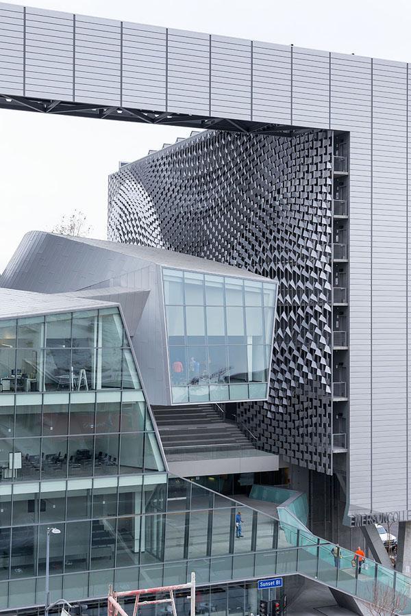 Culture And Technology The Emerson College Campus By