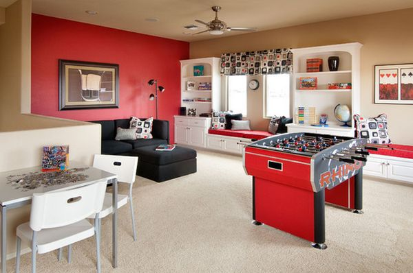 Captivating Game And Entertainment Rooms Featuring Witty Design Ideas