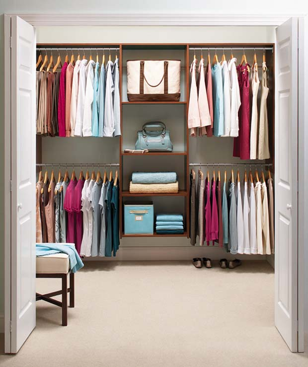 Closet Organizing Ideas learn to love your closet, big or small