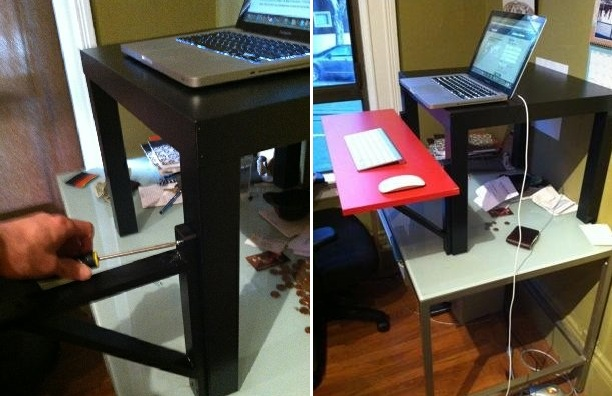 Superior $22 IKEA Standing Desk. Photo Gallery