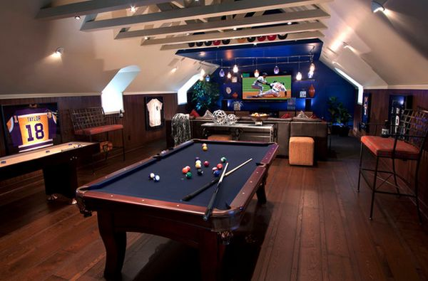 Game and entertainment rooms featuring witty design ideas view in gallery solutioingenieria Image collections
