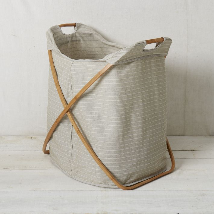 Where can I find these laundry hampers ?