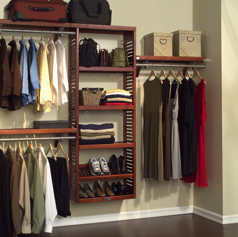 Simple small closet organization tips smart home decorating ideas - Use Boxes And Baskets To Store Odds And Ends