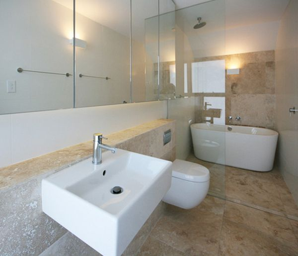Freestanding Tub And Shower Combo.  shower View in gallery How You Can Make The Tub Shower Combo Work For Your Bathroom
