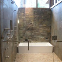 How You Can Make The Tub Shower Combo Work For Your Bathroom Doorless Designs Teach To Go With Flow