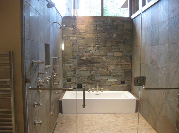 enclosed tub and shower combo.  How You Can Make The Tub Shower Combo Work For Your Bathroom