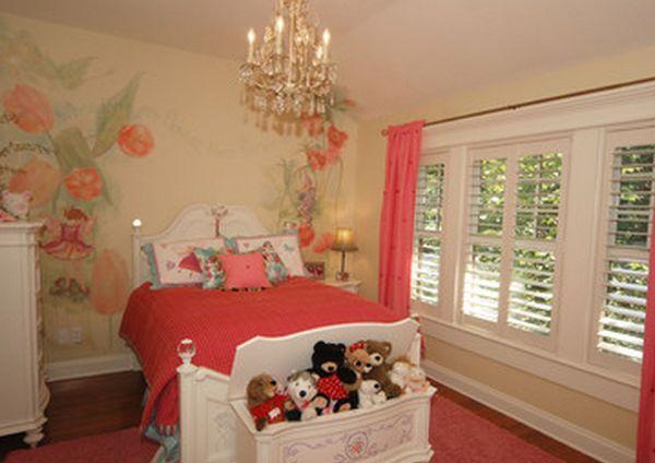 Bedroom Floor Shelves