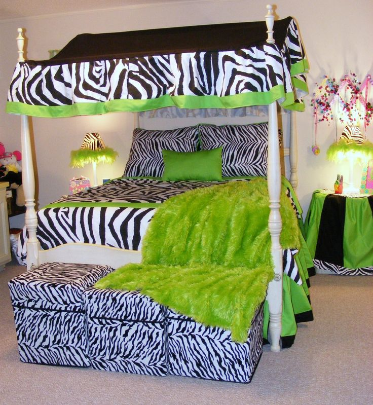how to incorporate zebra print into your bedrooms dcor