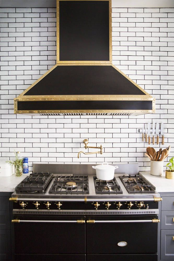 Kitchen Tiles Black kitchen subway tiles are back in style – 50 inspiring designs