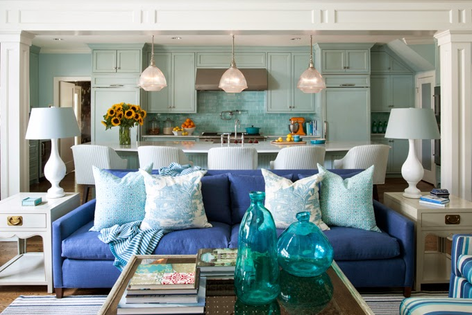 Eclectic Cottage Home With A Vibrant Yet Balanced Color