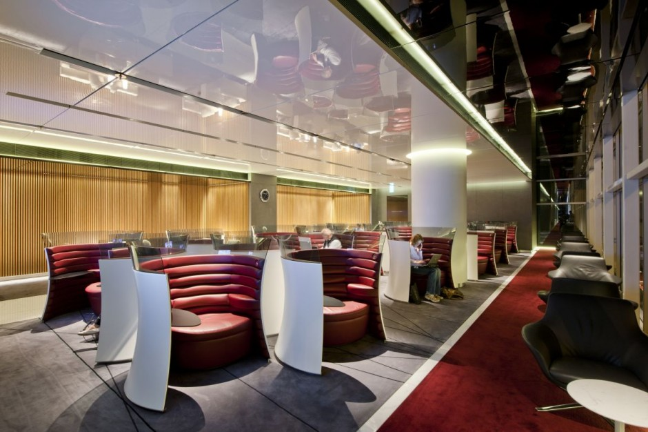 10 spectacular airport lounges around the globe impress for Lounge pictures designs