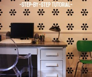 DIY Concrete Countertop Desktop: A Step-by-Step How To Tutorial