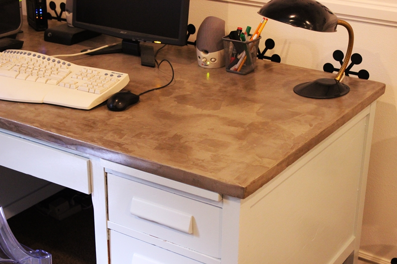 DIY Concrete Desktop: A Step By Step Tutorial