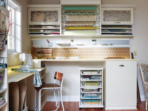 Dining Room Storage Ideas To Keep Your Scheme Clutter Free: Wrapping Paper Storage Solutions That Keep The Clutter