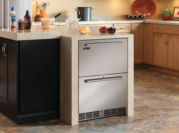 View In Gallery These Dual Zone Freezer Refrigerator Drawers