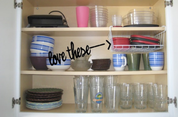 View In Gallery Use Wire Baskets To Get Extra Storage Your Kitchen Cabinets