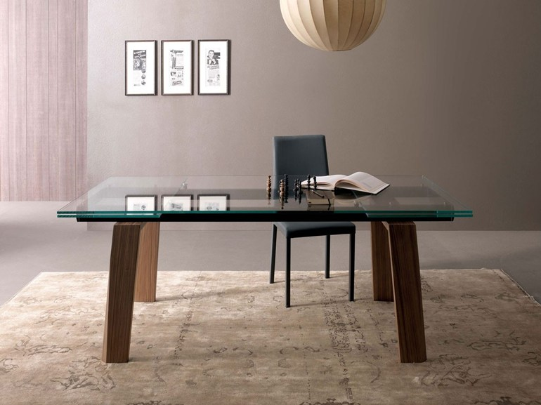 Rectangle Glass Dining Table expandable dining tables - the secret to making guests feel welcome