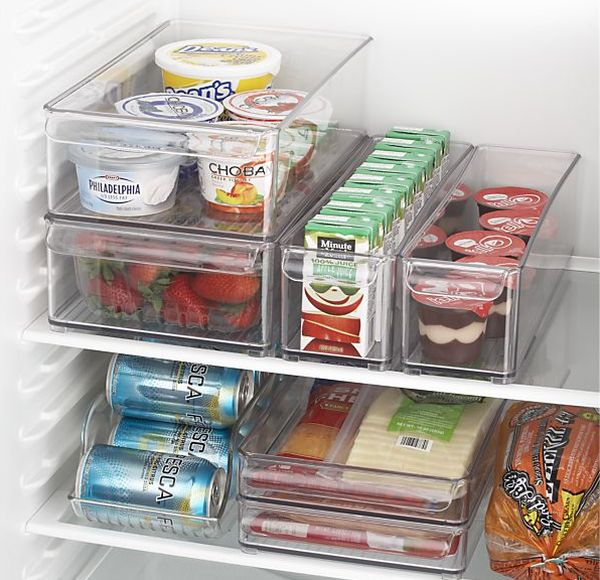 20 fridge organization tips that put your design skills to for Box bimbi ikea
