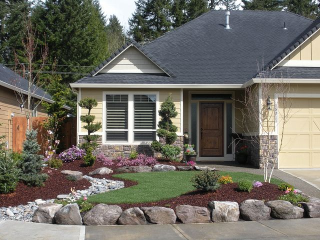 classy what to plant in front of house. View in gallery Dos and Don ts of Front Yard Landscape