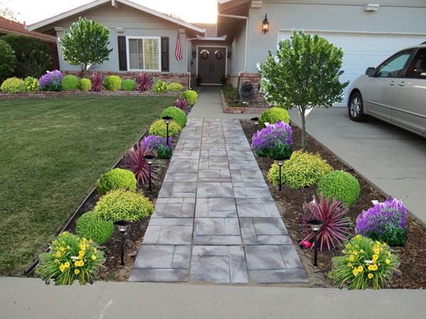 view in gallery - Front Yard Garden Ideas Pictures