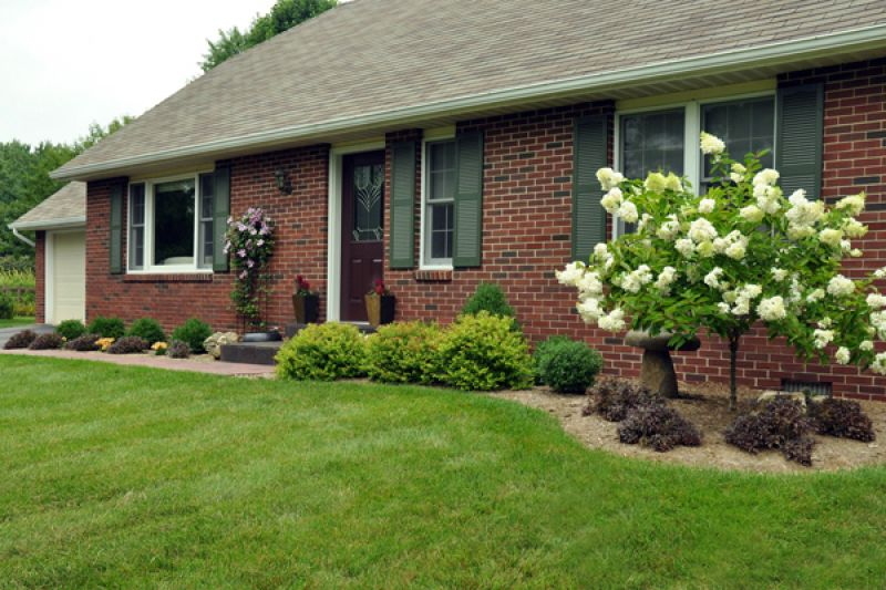 simple landscaping ideas pictures front yard