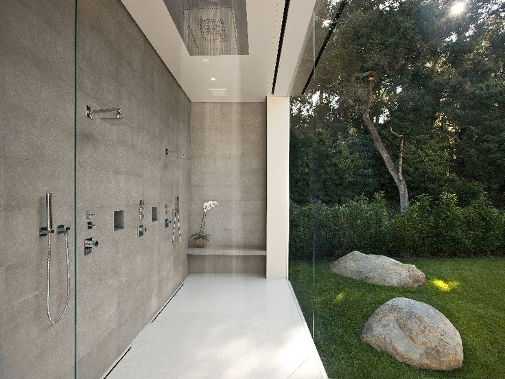 25 cool shower designs that will leave you craving for more - Intriguing contemporary outdoor lighting fixtures for more attractive exterior ...
