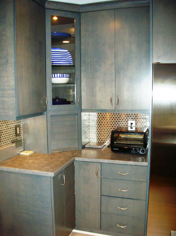 No Kitchen Cabinet Space