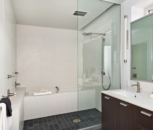 How you can make the tub shower combo work for your bathroom for European bathroom designs pictures