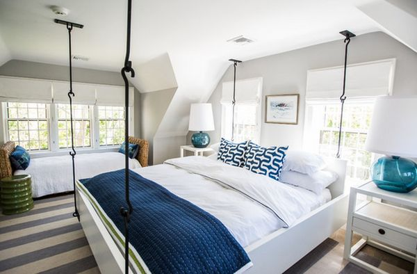 ... Hanging Beds Make Any Room Feel Extra Cozy And Casual View In Gallery  ...