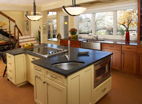 Is a corner kitchen sink right for you solving the dilemma for Top kitchen layouts