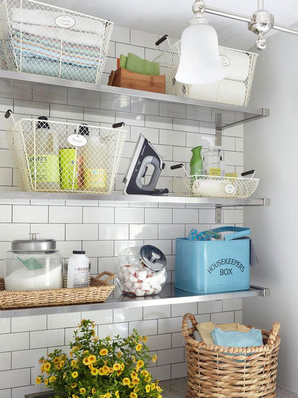 this get organization diy laundry small industrial look shelving room farmhouse