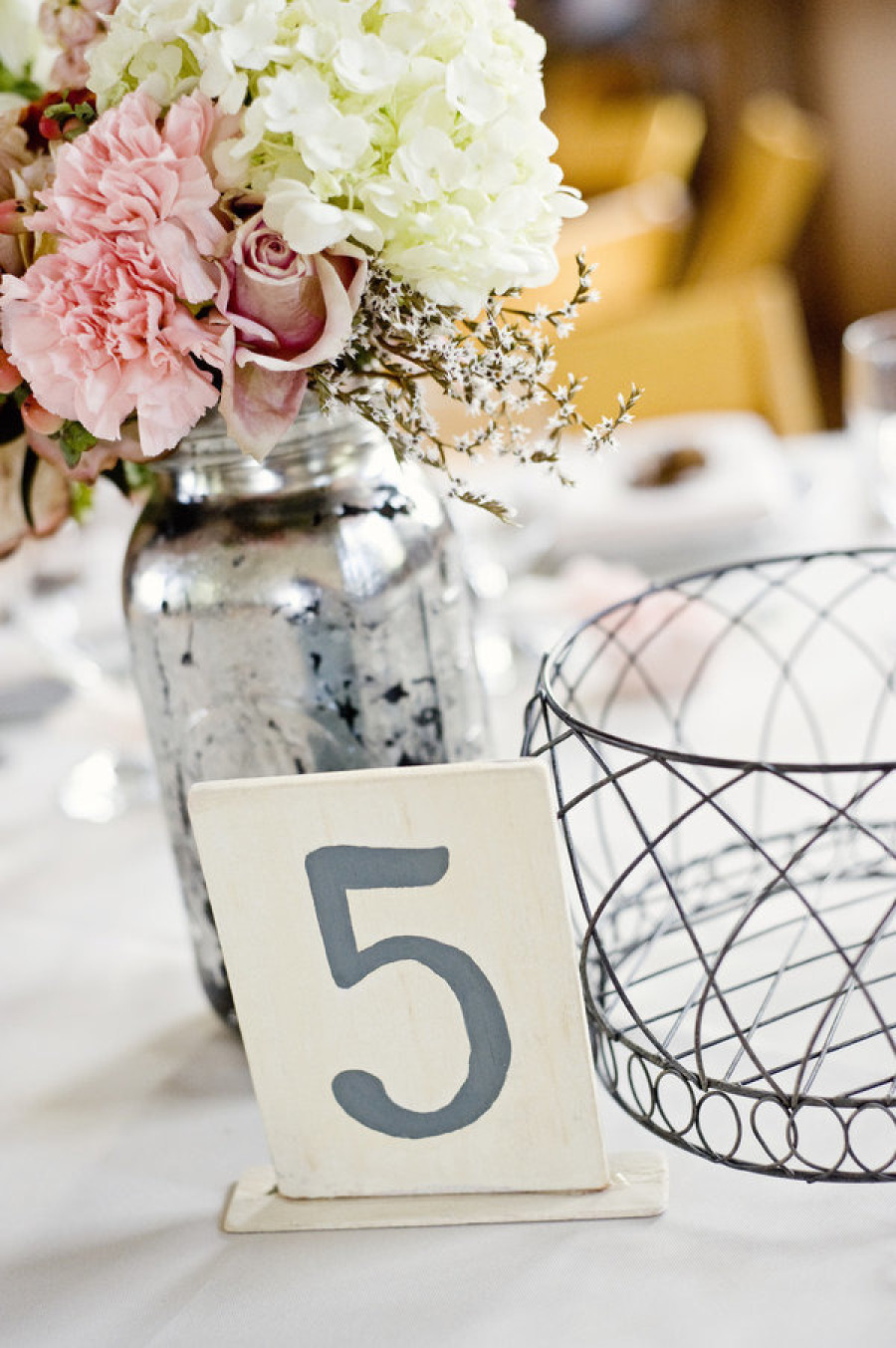 Stylish mercury glass vases that add pizzazz to any dcor accessorize the vases with pastel colored flowers and other matching details reviewsmspy