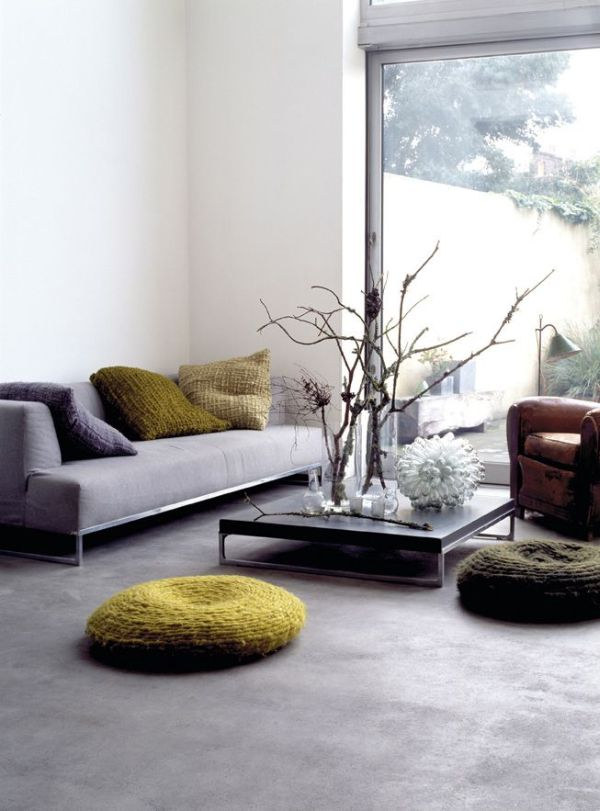 An InDepth Guide To Polished Concrete Floors - Concrete slab coffee table