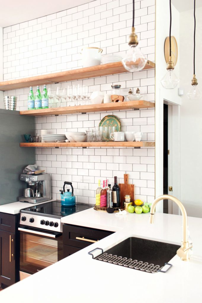 Kitchen Tiles For Oak Kitchen kitchen subway tiles are back in style – 50 inspiring designs