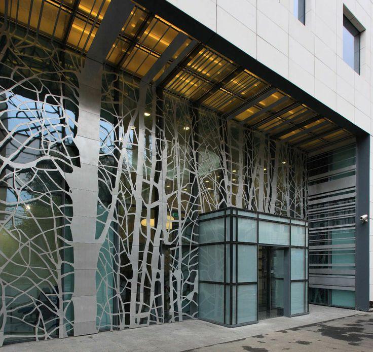 Modern commercial building facades Building facade pictures