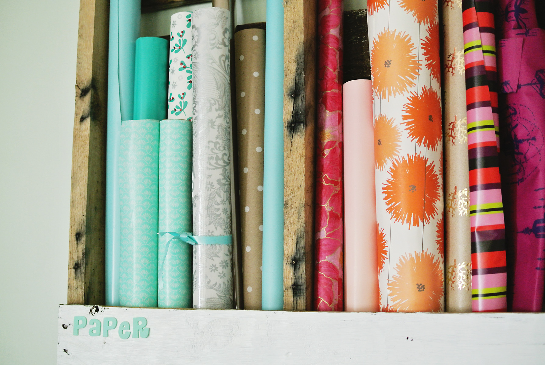 pallet paper storage